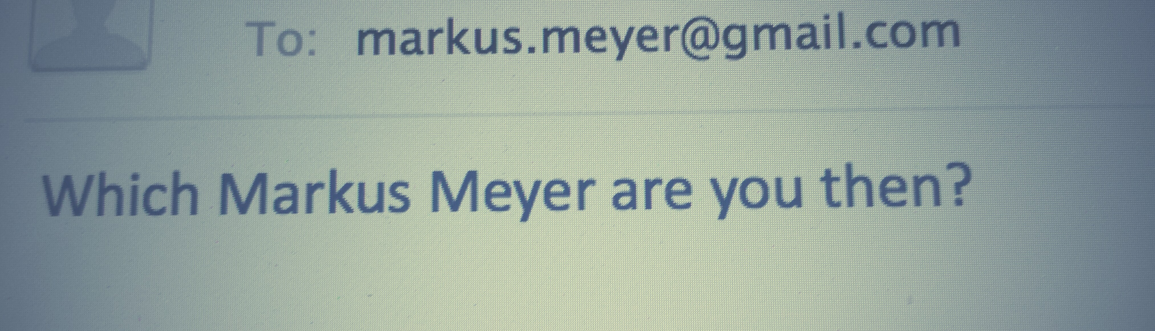 What are the other Markus Meyer's up to?